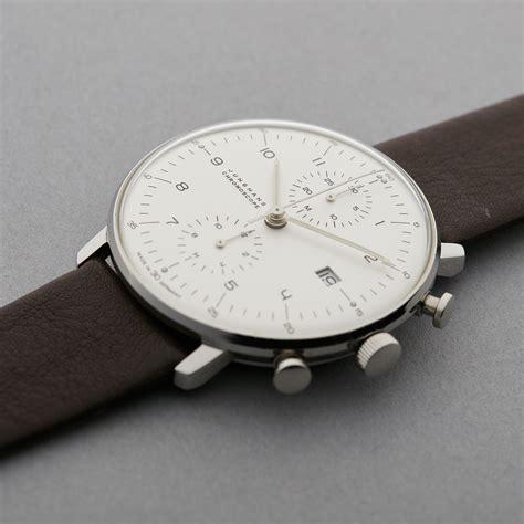Unusual Clocks junghans max bill chronoscope 027 4600 00 pre owned