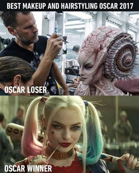 More Silly Makeup At The Oscars by Strange Industry Oscar Winner And Loser For