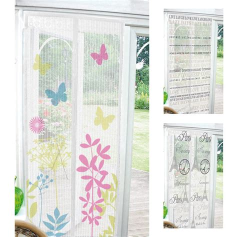 bug curtains printed magnetic insect door screen curtain home bug fly