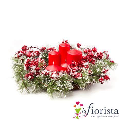centrotavola natalizio vendita centrotavola natalizio consegna fiori a domicilio