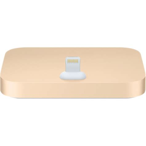 apple iphone lightning dock gold ml8k2am a b h photo