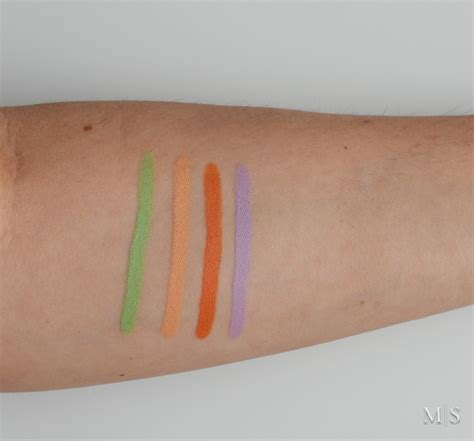 color sticks smashbox color correcting sticks review swatches