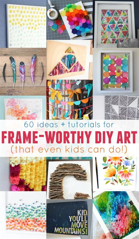 spinning l that projects pictures on the walls remodelaholic 60 easy wall art ideas that even kids can make
