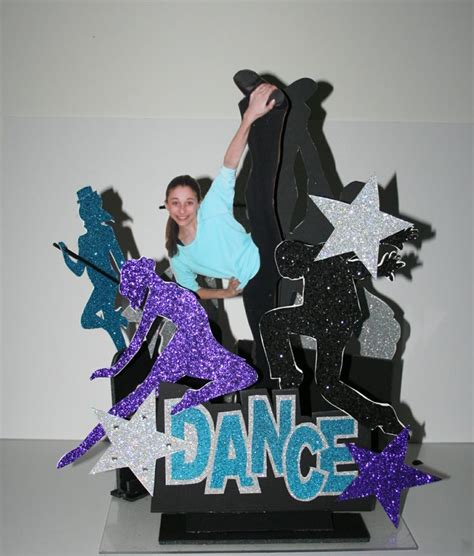dance themed events dance themed centerpiece designed for a bat mitzvah by