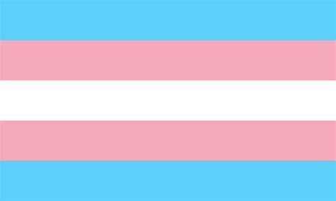 trans flag colors datei transgender pride flag svg