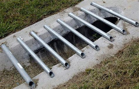 mitered end section mes pipe grates tavares fl environmental composites