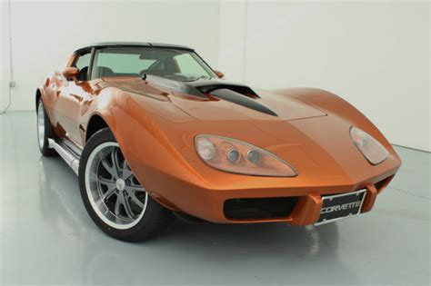 80 stingray corvette corvette stingray custom fastback 383v8 sidepipes 18x10