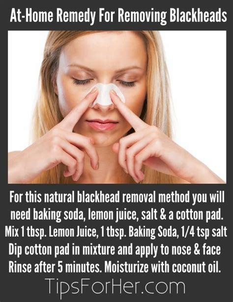 beauty tips and tricks at home at home remedy for removing blackheads using baking soda