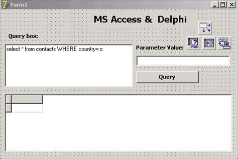 membuat form data siswa dengan accesss 2007 istiyanto com contoh program delphi 7 database microsoft acces