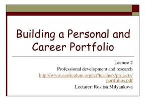 career portfolio template best photos of career portfolio templates sle career
