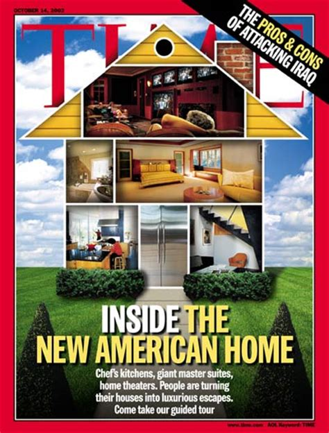 home design universal magazines time magazine cover inside the new american home oct