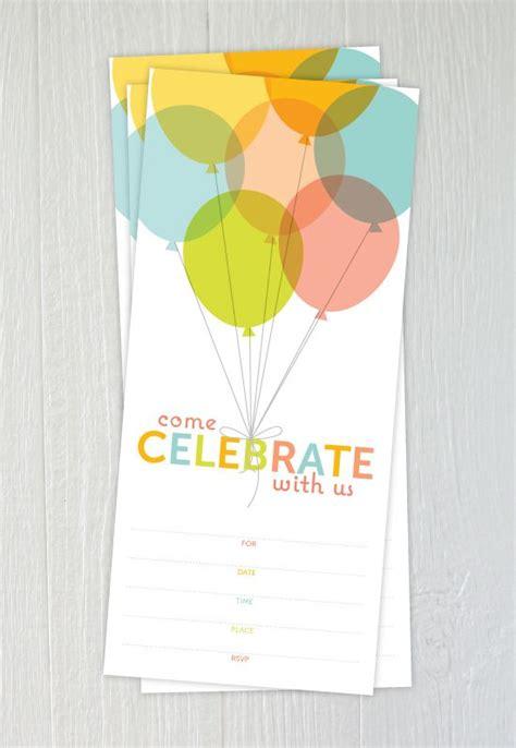 free printable invitations birthday 3 15 free printable birthday invitations for all ages