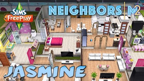 home design game neighbors sims freeplay jasmine n s house neighbor s original