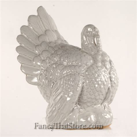 large ceramic turkey centerpiece ceramic turkey centerpiece images