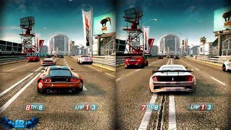 pc coop split second velocity pc gameplay split screen high