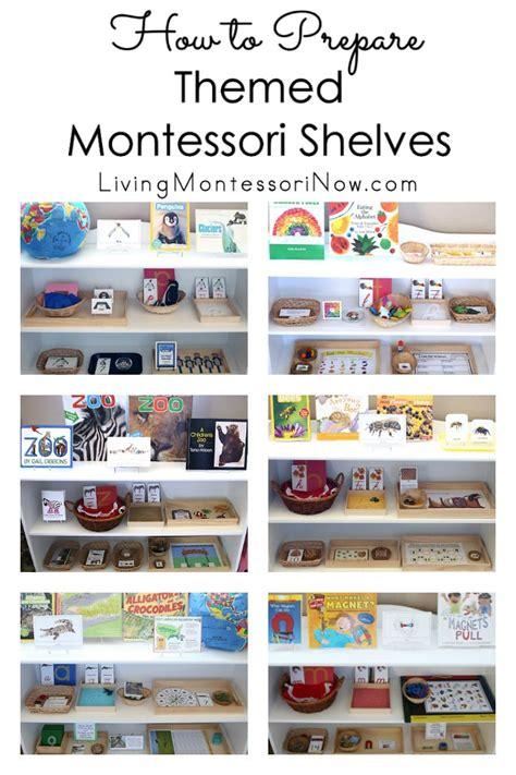montessori printable shop how to prepare themed montessori shelves