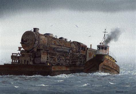 tugboat painting tugboat paintings