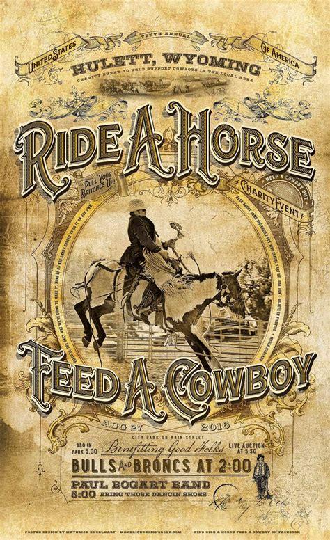 cowboy c whiskey flat days 2016 americana artwork vintage design historical design from