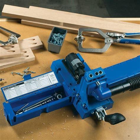 kreg woodworking kreg k5 pocket jig
