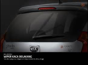 Gagang Wiper Belakang Kia All New all new picanto info kia yogyakarta