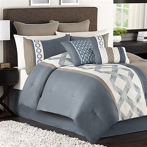 carsons bedding carson 6 8 piece comforter set bed bath beyond