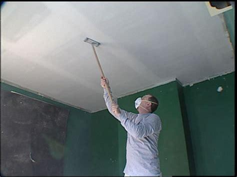 Comment Enduire Un Plafond En Placo by Pose Placo Plafond Refaire Un Plafond Avec Du