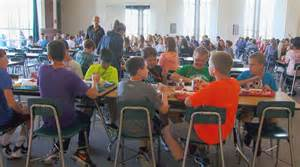 the lunch room grants make salad bars available to school districts across the u s wdtn