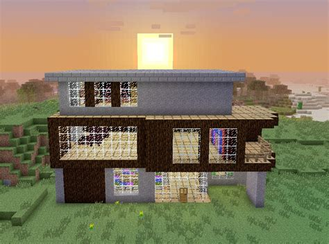 hoke house the hoke house a simple modern home minecraft project