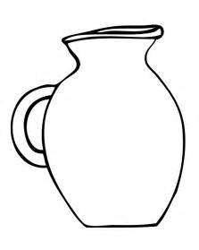 Free Coloring Pages Of And Jug sketch template