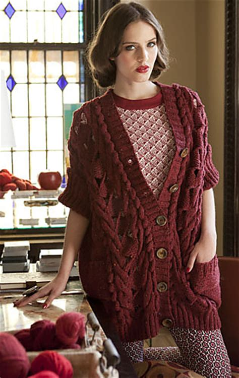 pattern red winter clothes horde ravelry vogue knitting winter 2012 13 patterns
