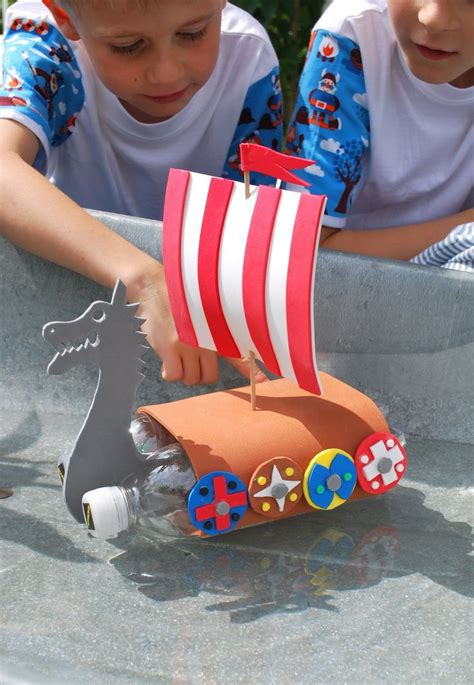 viking boats lesson diy viking boat k12 2nd grade history projects to go