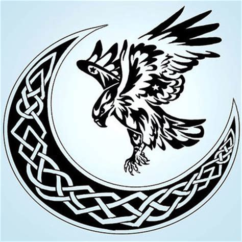 celtic owl and moon by tattoo design on deviantart 21 moon tattoo designs