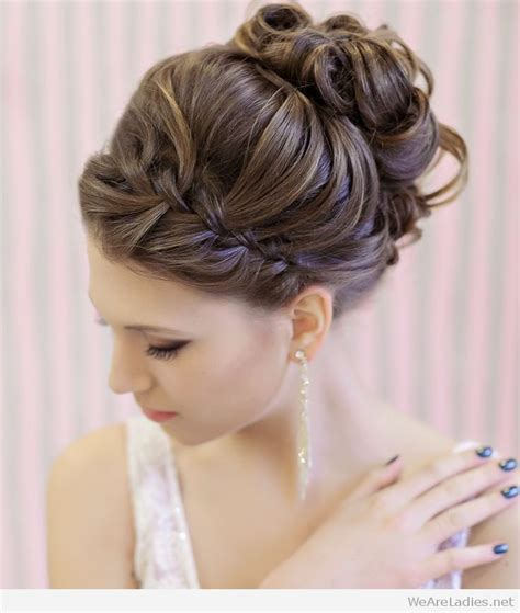 elegant hairstyles how to beautiful and elegant updo for wedding