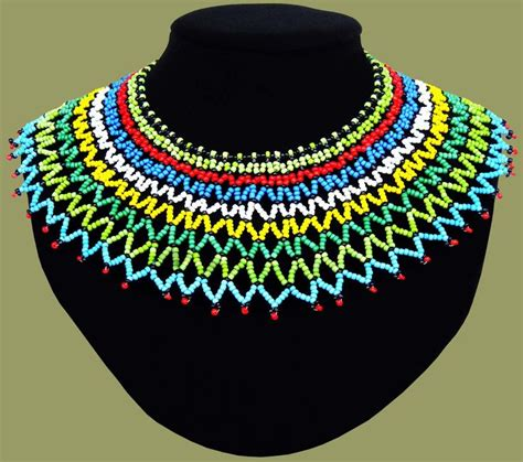 necklaces on traditional nigerian attires traditional african beadwork necklaces beaded necklaces