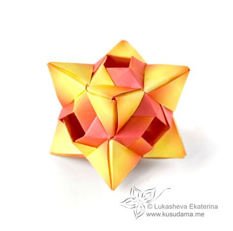 3d Geometric Origami - origami polyhedrons 171 embroidery origami