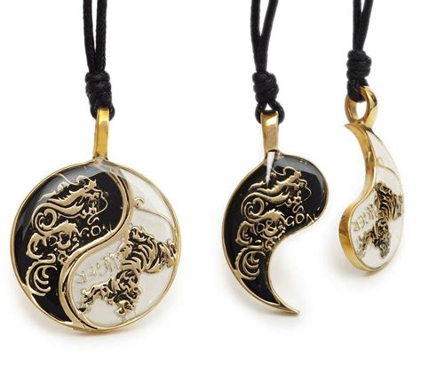 Taoism Sign Ancient Eight Diagrams Pendant Necklace Charms Yin tiger yin yang best friend handmade brass necklace pendant jewelry ebay