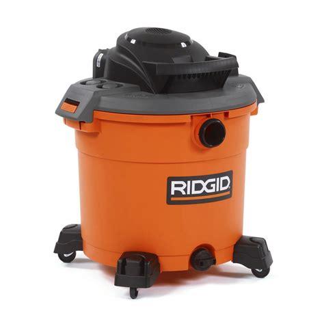 ridgid 16 gal 5 0 peak hp vacuum 39 88