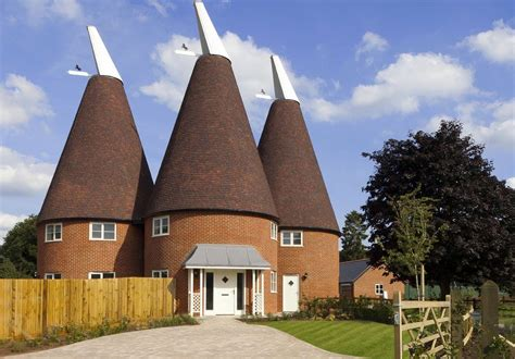oast house design oast house in east malling kent ajw distribution