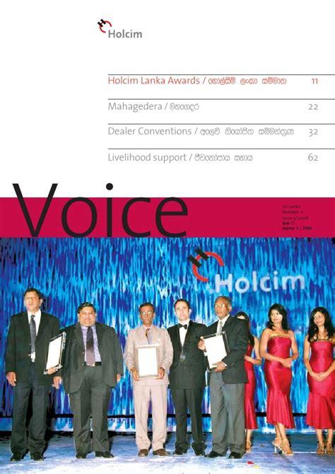 Voice 11 Lc holcim voice magazine issue 11