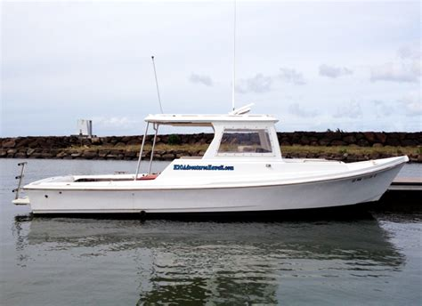 fishing charter boat hawaii north shore charter boat foxy lady quot the seeker quot oahu hawaii