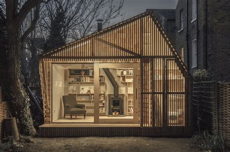 shed style architecture contemporary writing shed in environment