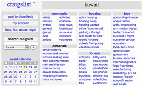 Craigslist Kuwait 2 48am Everything Kuwait