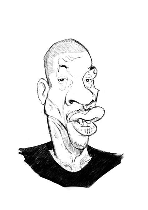 Joey Starr caricature – Kadran, caricatures et