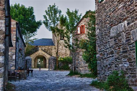 imagenes de paisajes gallegos o cebreiro la aldea de mayor altitud del camino en