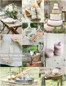 bridal shower theme country chic