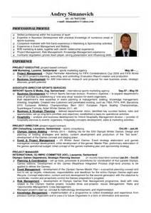 Sports Managements Resume / Sales / Management   Lewesmr