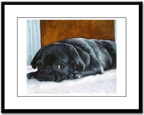 pug store pug prints posters paintings pugs dogbreed gifts