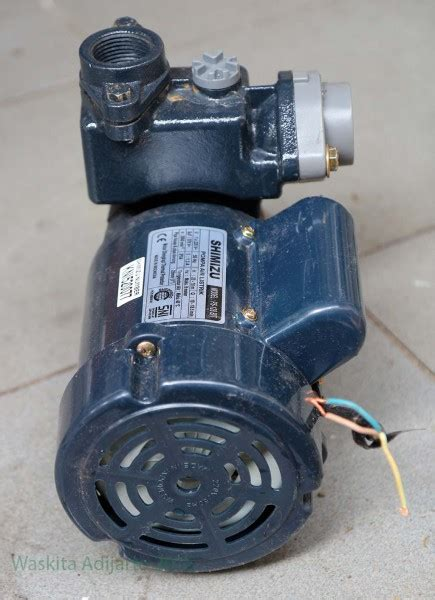 Pompa Air Shimizu 128 Bit pompa air shimizu ps 128 bit elektrologi