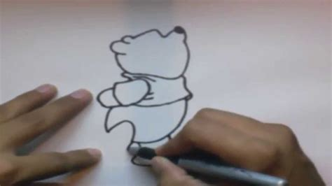 imagenes de winnie pooh bebe para dibujar como dibujar a winnie pooh l how to draw winnie pooh youtube