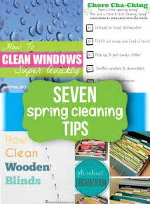 cleaning ideas spring cleaning tips